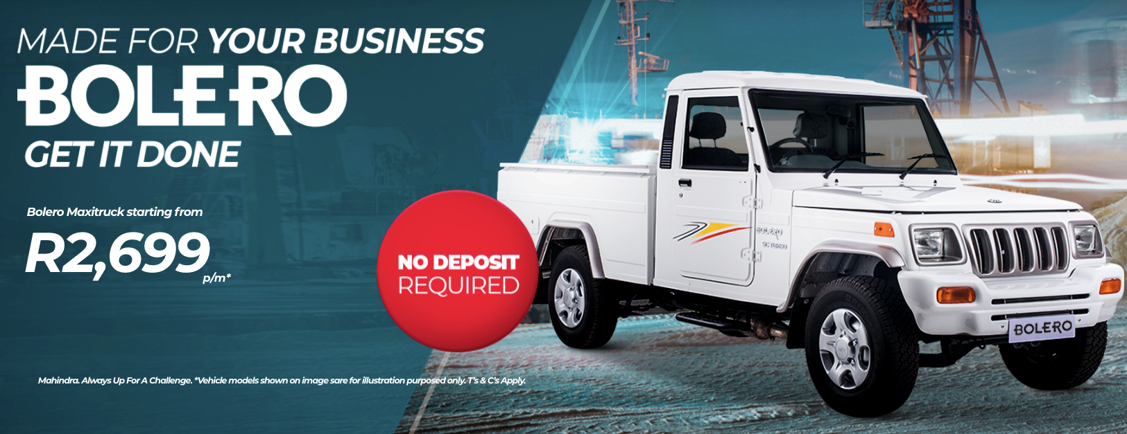 Mahindra Bolero Single Cab Bloemfontein